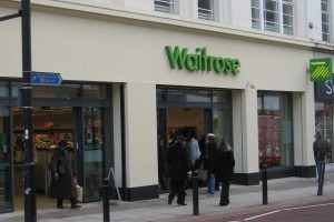 The new Waitrose store on St John's Road