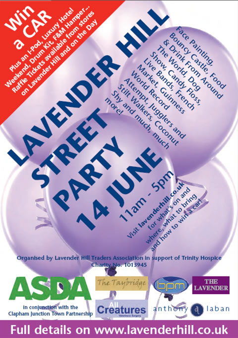 Lavender Hill Street Party 2009