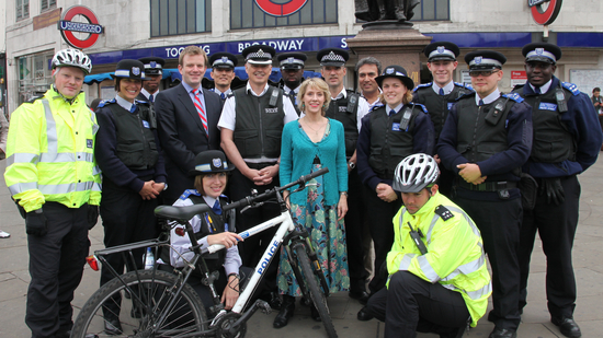 Tooting police team