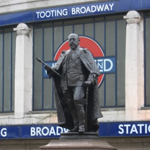 In all his time at Tooting Broadway, Edward VII has never pestered anyone for a direct debit.
