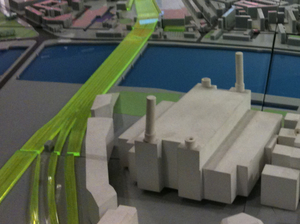 Battersea Power Station model