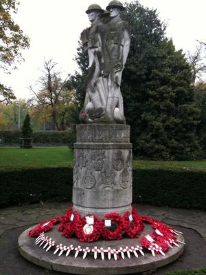 Battersea Park memorial