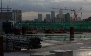Canary Wharf from Westfield Stratford
