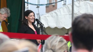 Nigella Lawson opens Summer in the Square