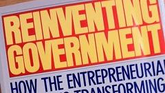 Reinventing government thesis osborne gaebler