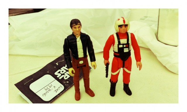 Impulse buy: 2nd hand Luke Skywalker,...