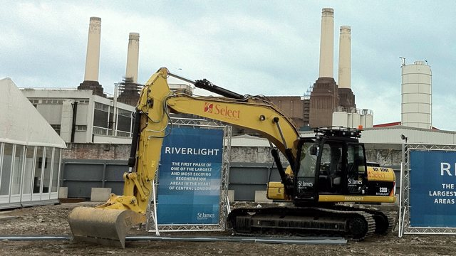 Riverlight ground breaking