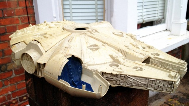 Millennium Falcon: I had one of these...