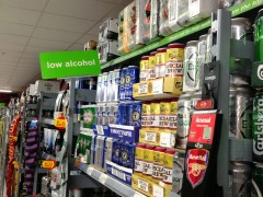 Asda's signage is a tad misleading....