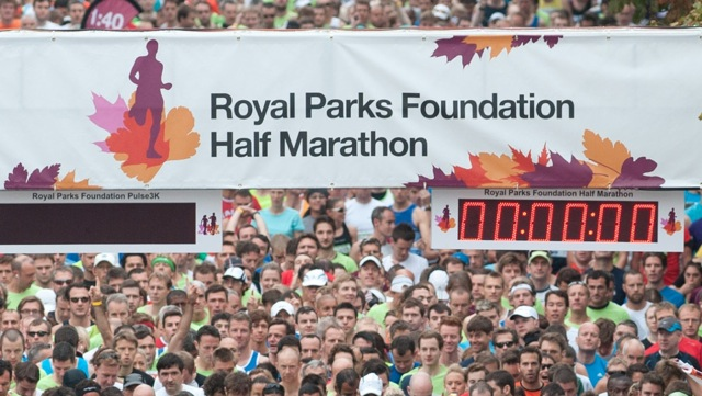 That really looks like fun, doesn't it? (Photo from Royal Parks Half Marathon website)