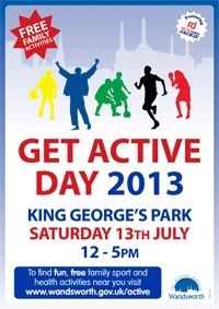 Get Active Day 2013 poster