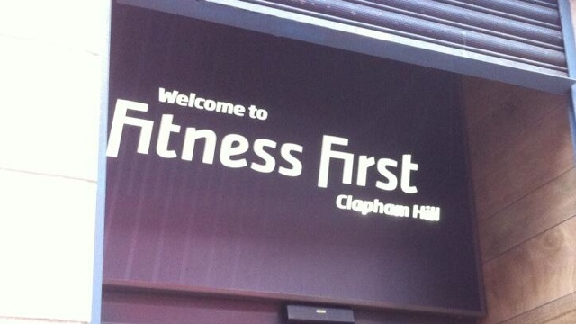 If Fitness First is the new frontline, where is the frontline?