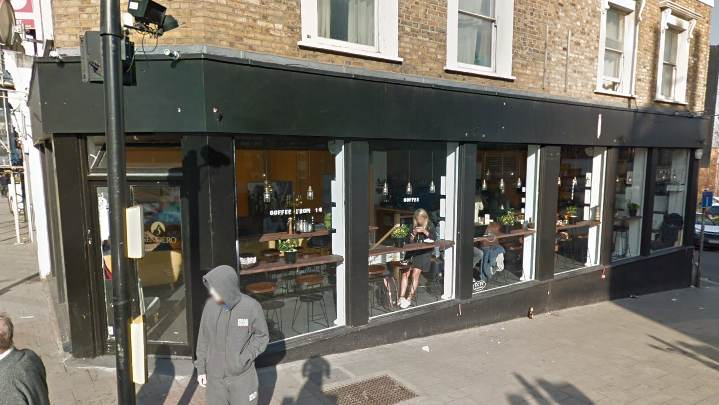 Google Street View of Sendero Coffee, Lavender Hill, Battersea